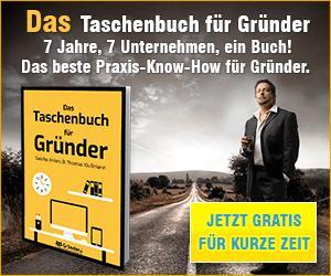 taschenbuch fuer gruender banner Lösung: YouTube Eigentumsrechte an Inhalten Prüfung