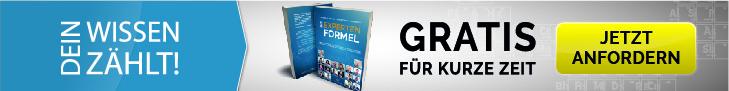Expertenformel Gratis Buch Cover Banner 2 Fullsize - Dein Wissen zählt